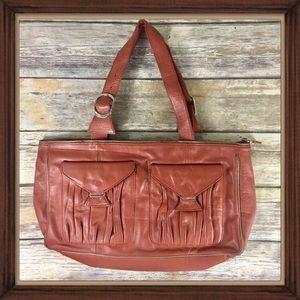 Vintage Dutchy leather brown shoulder bag GUC